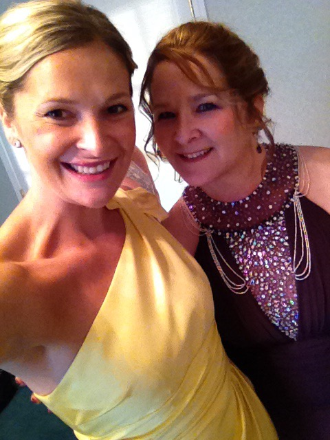 Bridesmaid and mother of the bride
