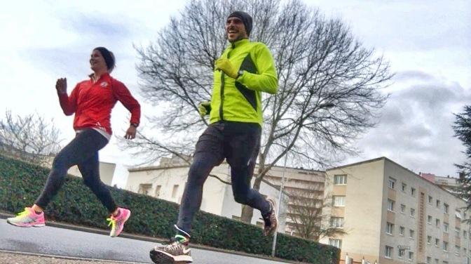 Running in Metz, France