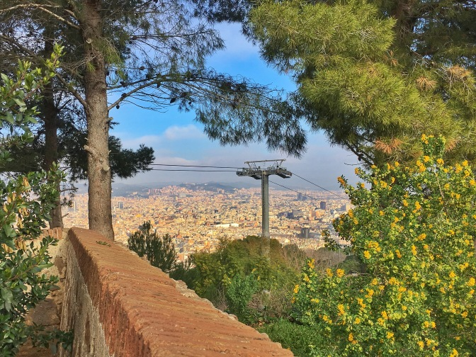 View from Montjuïc Castle