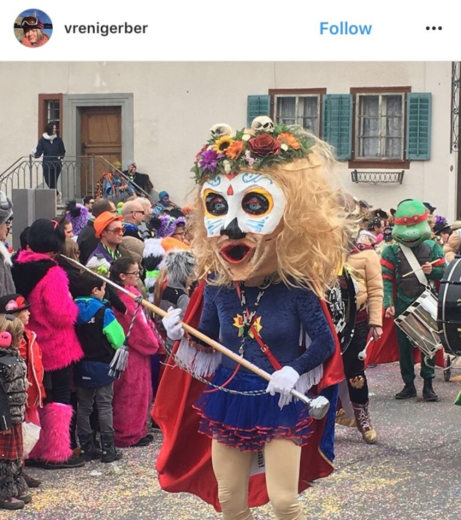 Photos on Instagram of the karneval