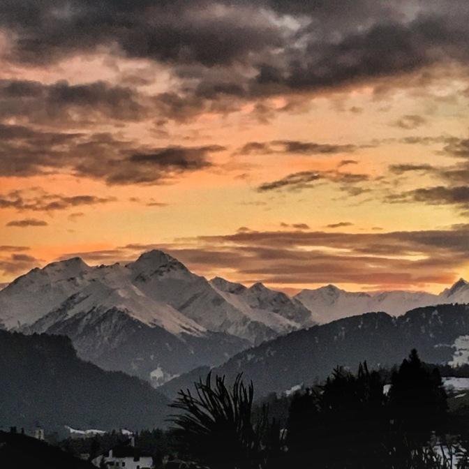 Laax Sunset