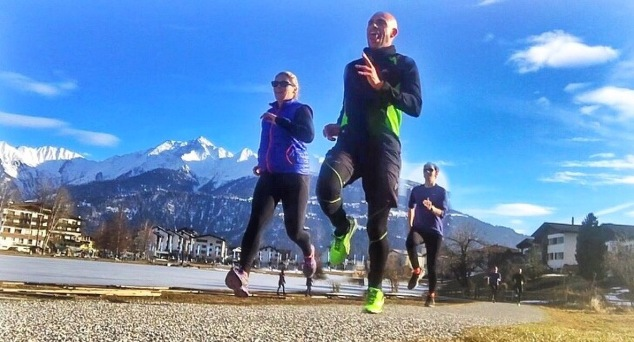 I even get my friends to run when on vacation, suckers