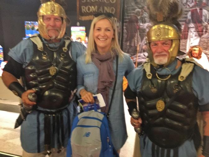 Met some Gladiators