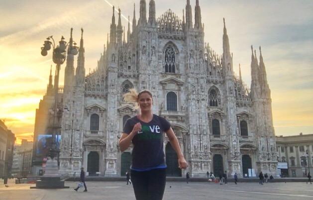 Running in Duomo