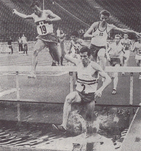 Kerry O'Brien, Australian Olympic Athlete. Photo from: Racing Past