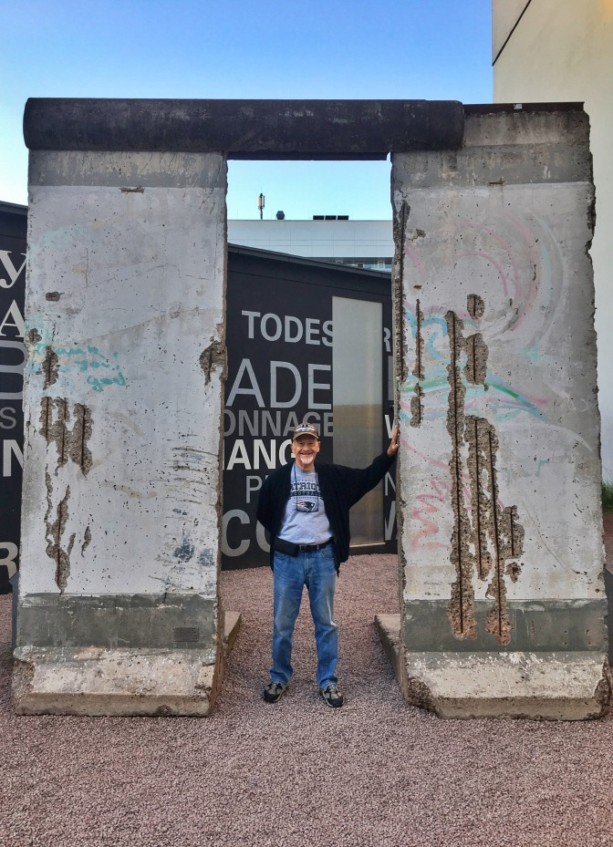 Dad and the Berlin Wall