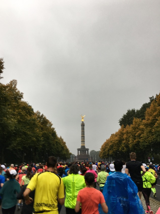 The Start of the Berlin Marathon
