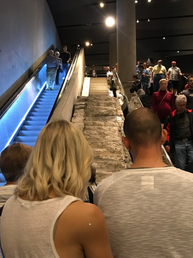 Survivors Stairs at 9/11 Museum