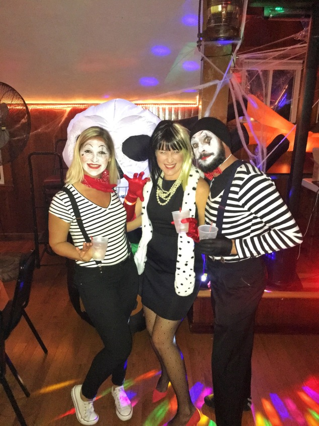 French Mimes and Cruella Deville